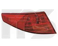 Фонарь задний для Kia Optima 10- правый, внешний (DEPO)