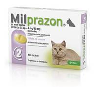 Милпразон для кошек и котят до 2 кг.,2 таб., фото 1