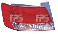Фонарь задний для Hyundai Sonata 05-07 левый (DEPO) внешний