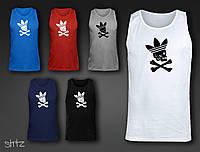 Майка мужская с уникальным принтом  Adidas Originals Vest (смотрите на сайте больше моделей)