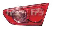 Фонарь задний для Mitsubishi Lancer X 07- правый (DEPO) внутренний, красный