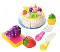 Продукты 170C1 на липучке торт, фрукты.