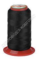 Нитка швейная TITAN (Турция) № 60, для машинки Версаль (270DTEX X2), цв. чёрный, 500 м