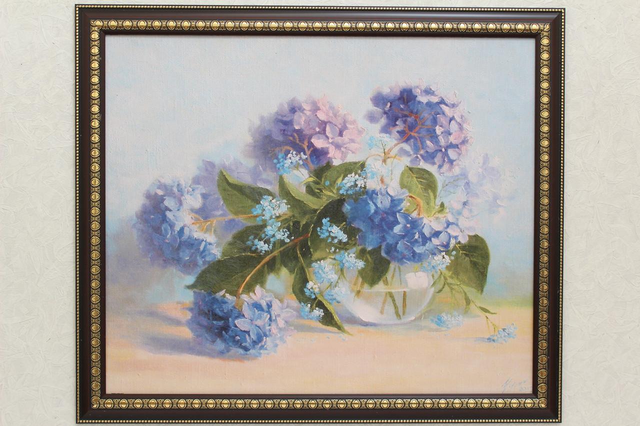 """Картина """"Сиреневые цветы в вазе"""""""