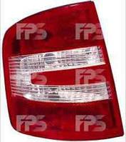 Фонарь задний для Skoda Fabia седан/универсал 05-07 правый (DEPO)