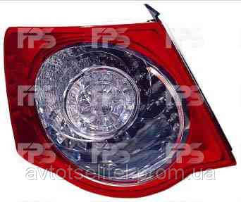 Фонарь задний для Volkswagen Jetta V 06-10 правый (DEPO) внешний LED