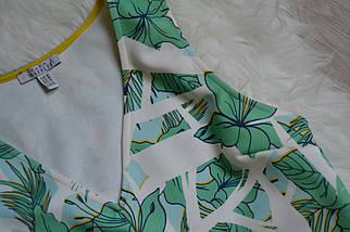 Топ в тропический принт Zara, фото 3