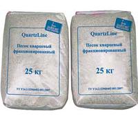 Песок кварцевый, фракция от 0.4 - до 1,6 мм, мешок 25 кг