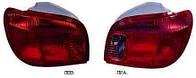 Фонарь задний для Toyota Yaris 03-06 левый (DEPO)