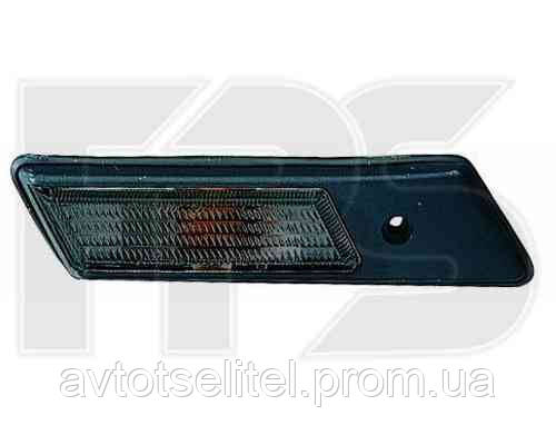 Указатель поворота на крыле BMW 3 E36 90-99 правый, дымчатый (DEPO)
