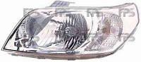 Фара передняя для Chevrolet Aveo 08- левая (DEPO) механическая