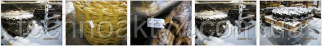 смазанные шарниры цепи снижают износ штифтов и втулок;  - высокая ударная прочность;  - смазанные цепи для уменьшения внутреннего износа, уровня шума и расхода топлива;  - уплотнительная группа разработана совместно с производителями машин.