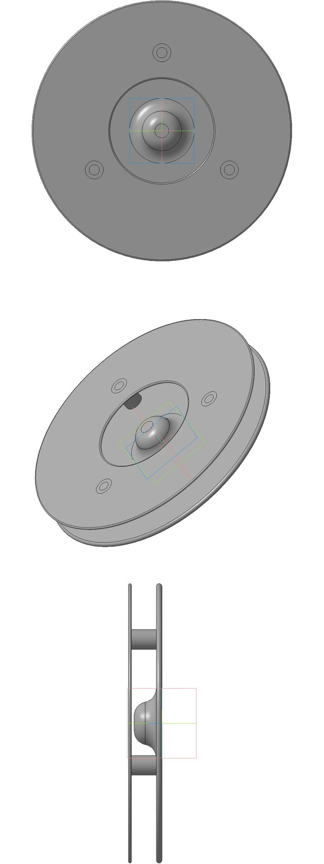 Рабочее колесо дискового насоса.