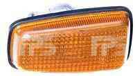 Указатель поворота на крыле Peugeot Expert 96-07 левый/правый, желтый (DEPO)