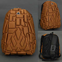 Рюкзак школьный  Blok 5844-3 цвет БРОНЗА