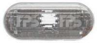 Указатель поворота на крыле Seat Ibiza 08- левый/правый, белый (DEPO)