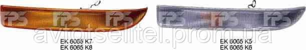 Указатель поворота Renault Master 97-10 левый, белый (DEPO)