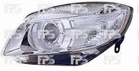 Фара передняя для Skoda Roomster 07-10 правая (DEPO) под электрокорректор линзованная