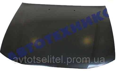 Капот с отверстием под форсунки (d=17mm) для Daewoo Nexia (N150) 2008-