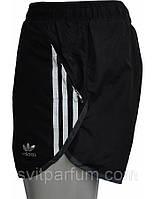 Мужские беговые шорты Adidas из плащевки с подкладкой-трусами, одежда 2014