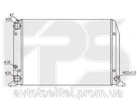 Радиатор охлаждения для AUDI 80 / 90 78-86/80 / 90 86-91
