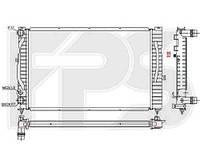 Радиатор охлаждения для AUDI A4 95-99 /A6 97-00 SDN / 98-00 AVANT (C5)/A6 01-05 , SKODA SUPERB 02-08 (3U), VW