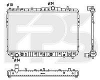 Радиатор охлаждения для CHEVROLET LACETTI 03-13 SDN/KOMBI