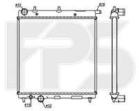 Радиатор охлаждения для CITROEN C3 02-09