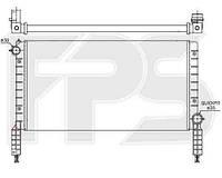 Радиатор охлаждения для FIAT DOBLO 01-04