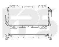 Радиатор охлаждения для FORD FIESTA 83-89