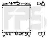 Радиатор охлаждения для HONDA CIVIC 92-95 HB (EG/EH)/CIVIC 92-95 SDN (EG/EH)/CIVIC 95-00 EUR