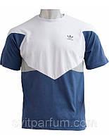 Мужская футболка adidas из хлопка, одежда (реплика)