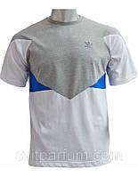 Мужская футболка Adidas из хлопка, одежда фото, футболки Запорожье, Украинские футболки