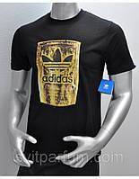 Мужская футболка Adidas из хлопка, одежда оптом Украина, футболки дешевые цены