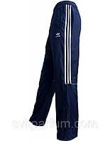 Мужские спортивные брюки, штаны Adidas из плащевки на х/б подкладке, Павлоград