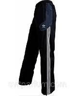 Мужские спортивные брюки, штаны adidas из плащевки на х/б подкладке, (реплика)