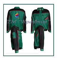 Куртки рабочие со вставками и карманами (от 50 шт.)