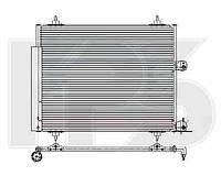 Радиатор кондиционера для CITROEN JUMPY 07-, PEUGEOT EXPERT 07-