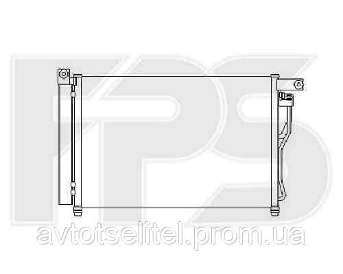 Радиатор кондиционера для HYUNDAI ACCENT 06-10