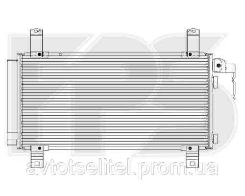 Радиатор кондиционера для MAZDA 6 (GG/GY) 02-08