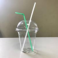 Купольный комплект 200 мл АРЕТ Huhtamaki (стакан+крышка)