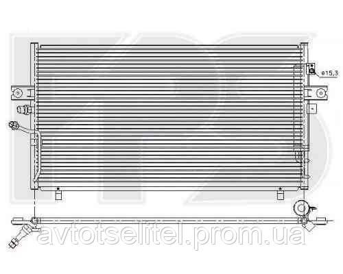 Радиатор кондиционера для NISSAN MAXIMA 95-00 (A32)/MAXIMA 00-06 QX (A33)