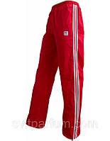 Мужские спортивные штаны адидас из плащевки на х/б подкладке (реплика) размер М, 46