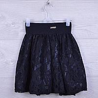 """Юбка школьная """"Джесси"""" для девочек. 116-134 см. Черная. Школьная форма оптом"""