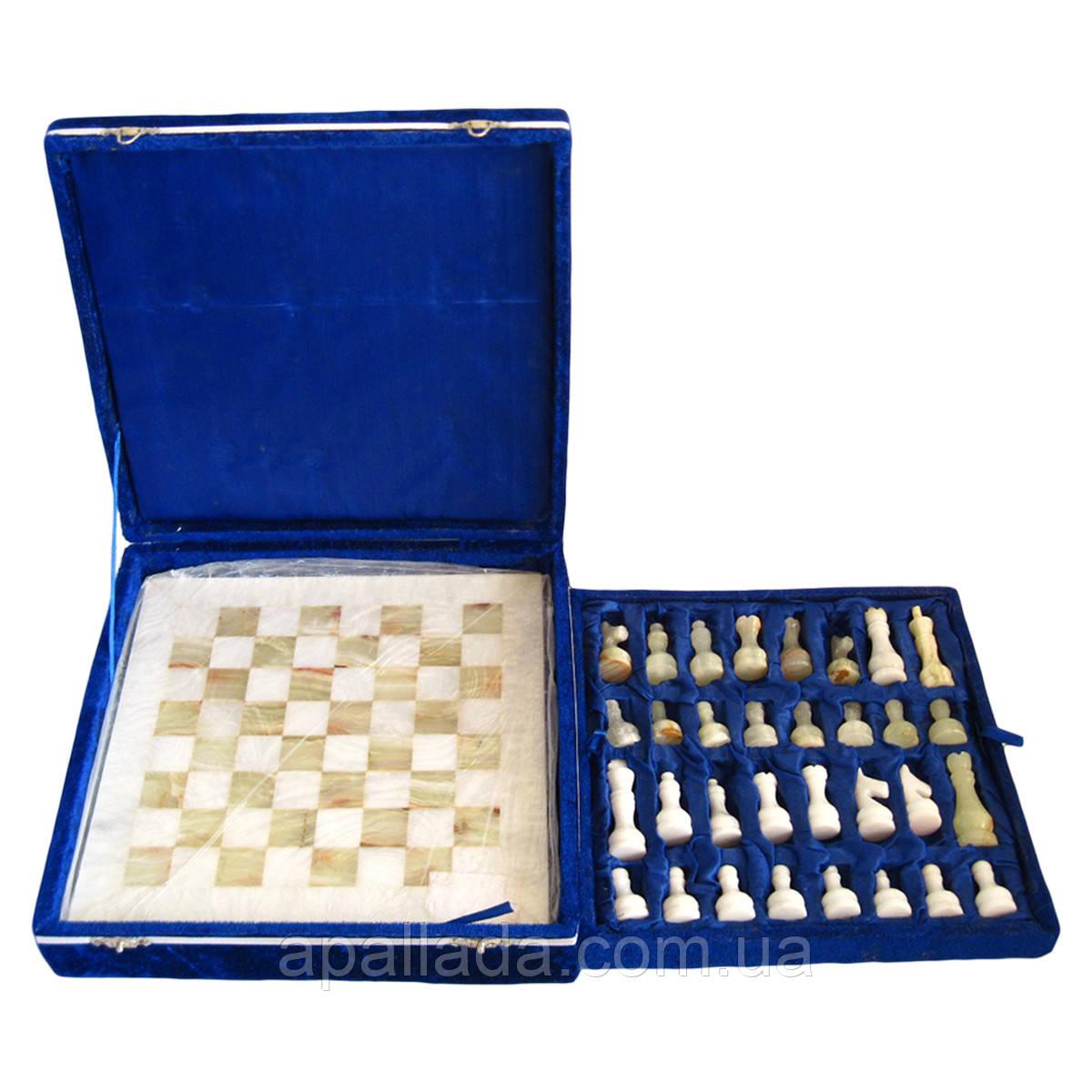 Шахматы настольные оникс, 28*28 см