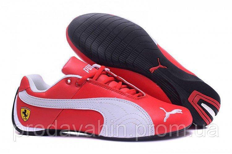 1c58d9b6 Кроссовки мужские Puma Ferrari Low Red White M кроссовки пума, кроссовки  puma