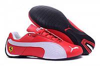 Кроссовки мужские Puma Ferrari Low Red White M кроссовки пума, кроссовки puma