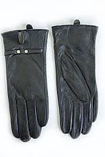 Женские кожаные перчатки Вязка W22-160041, фото 2