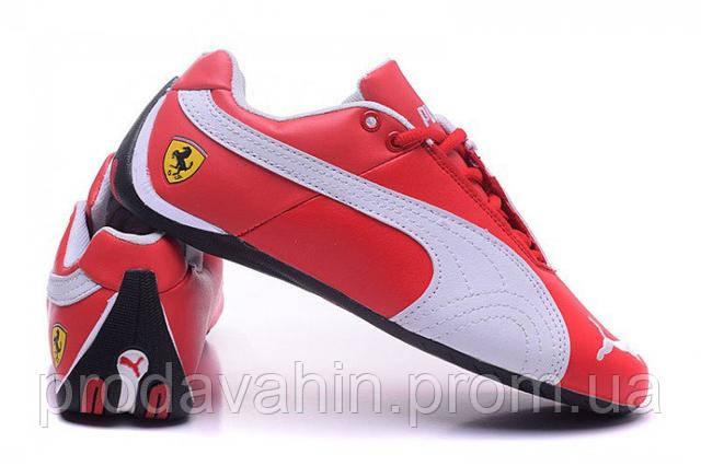 fc7cf656 ... Кроссовки мужские Puma Ferrari Low Red White M кроссовки пума, кроссовки  puma ...