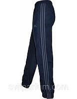 Мужские спортивные брюки, штаны Adidas из плащевки без подкладки, весна одежда, спортмастер